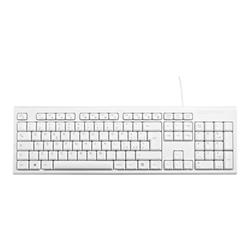 Tastiera V7 - Keyboard desktop usb white ita