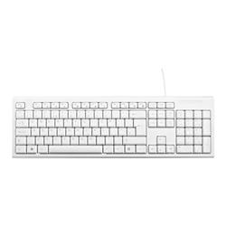 Tastiera V7 - Keyboard desktop usb white eng