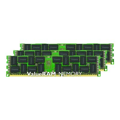 Kingston - 12GB 1600MHZ DDR3 DIMM (KIT OF 3)
