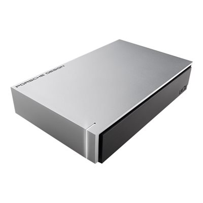LaCie - 8TB PORSCHE 3.5 USB LIGHT-GREY