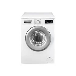 Lave-linge Smeg LBW510CIT - Machine à laver - pose libre - largeur : 59.7 cm - profondeur : 40 cm - hauteur : 84.5 cm - chargement frontal - 5 kg - 1000 tours/min - blanc