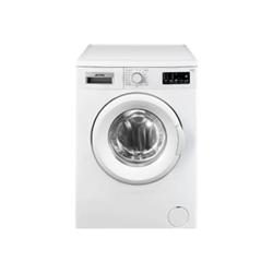 Lave-linge Smeg LBW610IT - Machine à laver - pose libre - largeur : 59.7 cm - profondeur : 50 cm - hauteur : 84.5 cm - chargement frontal - 6 kg - 1000 tours/min - blanc