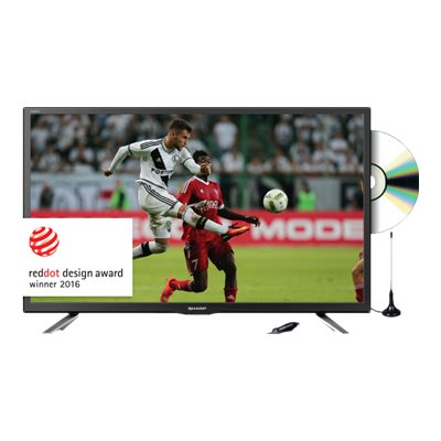 Sharp - =>>TV 24 SMART TV CON DVD INTEGRATO