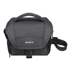 Sacoche Sony LCS-U11 - Étui pour appareil-photo numérique / camescope - Néoprène - noir - pour Action Cam-HDR-AS300; Cyber-shot DSC-RX100; Handycam HDR-CX170, CX680, PJ680; a6500