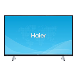 "TV LED Haier LDF43V150S - Classe 43"" TV LED - Smart TV - 1080p (Full HD) - noir"