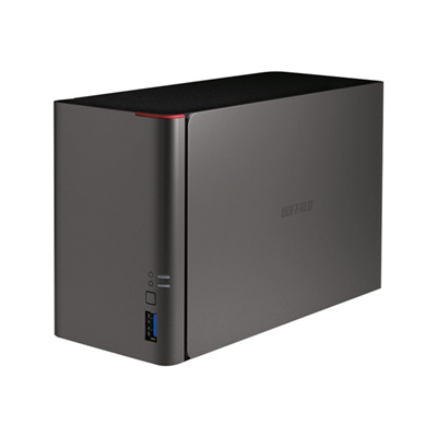 Buffalo Technology - LS 421E 0TB HI-SPEED CPU 2BAYS USB3