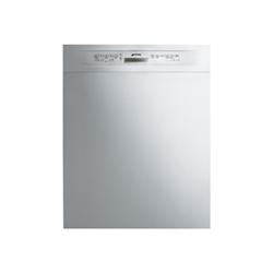 Lave-vaisselle Smeg LSP222XIT - Lave-vaisselle - pose libre - Niche - largeur : 60 cm - profondeur : 57.5 cm - hauteur : 82 cm - inox