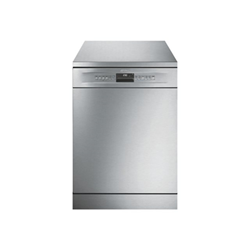 Lave-vaisselle Smeg LVS432XIT - Lave-vaisselle - pose libre - largeur : 59.8 cm - profondeur : 60 cm - hauteur : 84.8 cm - inox