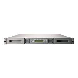 HPE StoreEver 1/8 G2 Tape Autoloader Ultrium 6250 - Chargeur automatique de bande - 20 To / 50 To - logements : 8 - LTO Ultrium (2.5 To / 6.25 To) - Ultrium 6 - 8Gb Fibre Channel - externe - 1U - lecteur de code à barre, chiffrement - Top Value Lite