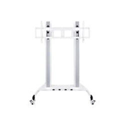 """Support pour LCD Multibrackets M Public Floorstand HD - Pied pour écran plasma / LCD - acier - blanc - Taille d'écran : 60""""-100"""" - au sol"""