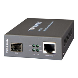 Router TP-LINK - Media convertitore gigabit ethernet