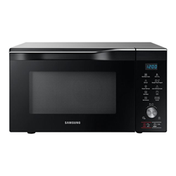 Micro ondes Samsung MC32K7085KT - Four micro-ondes combiné - grill - pose libre - 32 litres - 900 Watt - argent inoxydable néo