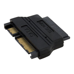 Adattatore Startech.com micro sata to sata adapter cable with power mcsataadap