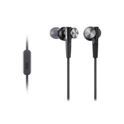 Sony MDR-XB50AP - XB Series - écouteurs avec micro - intra-auriculaire - jack 3,5mm - noir