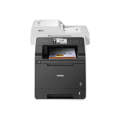 Imprimante laser multifonction ALL-IN-ONE 4 IN 1 A COLORI PROFESSIONALE CON RADF DUAL CIS