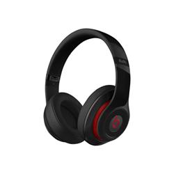 Beats Studio - Casque avec micro - pleine taille - montage sur l'oreille - sans fil - Bluetooth - Suppresseur de bruit actif - noir