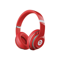 Beats Studio Wireless - Casque avec micro - pleine taille - sans fil - Bluetooth - Suppresseur de bruit actif - rouge - pour 12.9-inch iPad Pro; 9.7-inch iPad Pro; iPad mini 2; 4; iPhone 6s, 7, SE