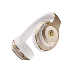 Beats Studio - Casque avec micro - pleine taille - sans fil - Bluetooth - Suppresseur de bruit actif - or