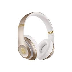 Beats Studio - Casque avec micro - pleine taille - sans fil - Bluetooth - Suppresseur de bruit actif - or - pour 12.9-inch iPad Pro; 9.7-inch iPad Pro; iPad (3rd generation); iPad 1; 2; iPad Air; iPad Air 2; iPad mini; iPad mini 2; 3; 4; iPad with Retina display; iPhone 3G, 3GS, 4, 4S, 5, 5c, 5s, 6, 6 Plus, 6s, 6s Plus, SE; iPod (4G, 5G); iPod classic; iPod mini; iPod nano; iPod shuffle; iPod touch