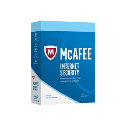 Software McAfee - Mcafee internet security 2017 - box