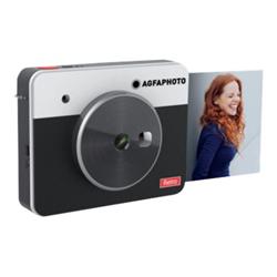 Fotocamera analogica Agfaphoto realipix square s - stampante - colore - a sublimazione asqs33-bk