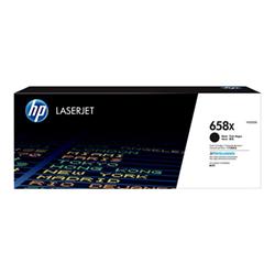 658x - alta capacità - nero - originale - laserjet...