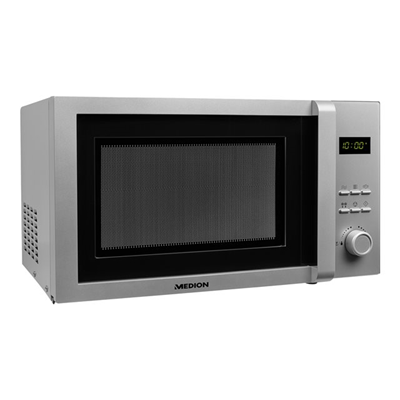 Medion - MEDION FORN MICROONDE 23L SILVER