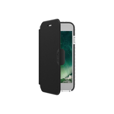 Celly - HEXAWALLY CASE IPHONE 8/7/6S/6 BK