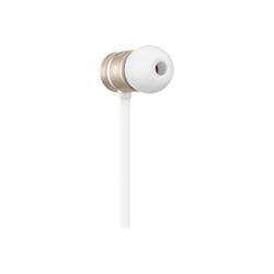 Beats urBeats - Écouteurs avec micro - intra-auriculaire - jack 3,5mm - isolation acoustique - or - pour Apple iPad/iPhone/iPod