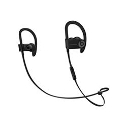 Beats Powerbeats3 - Écouteurs avec micro - intra-auriculaire - montage sur l'oreille - sans fil - Bluetooth - isolation acoustique - noir - pour 12.9-inch iPad Pro; 9.7-inch iPad Pro; iPad mini 2; 4; iPhone 6s, 7, SE