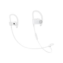 Beats Powerbeats3 - Écouteurs avec micro - intra-auriculaire - montage sur l'oreille - sans fil - Bluetooth - isolation acoustique - blanc - pour 12.9-inch iPad Pro; 9.7-inch iPad Pro; iPad mini 2; 4; iPhone 6s, 7, SE