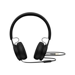 Beats EP - Casque avec micro - sur-oreille - jack 3,5mm - isolation acoustique - noir - pour 12.9-inch iPad Pro; 9.7-inch iPad Pro; iPad mini 2; 4; iPhone 6s, SE