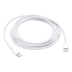 Câble Apple USB-C Charge Cable - Câble USB - USB de type C (M) pour USB de type C (M) - 2 m - pour MacBook (Début 2015, Early 2016); MacBook Pro (Fin 2016)