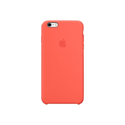 Foto Cover  MM6F2ZM/A  per  iPhone 6 Plus/iPhone 6S Plus Silicone Arancione Apple