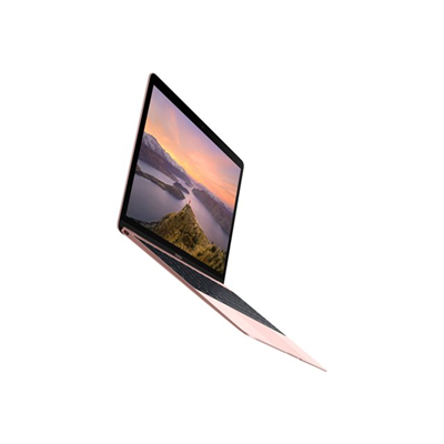 Apple - £MACBOOK 12 1.1GHZ 256GB - ROSE