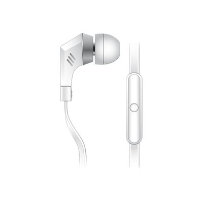 Celly - WHITE MONO HEADSET 3.5 MM