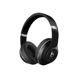 Beats Studio Wireless - Casque avec micro - pleine taille - sans fil - Bluetooth - Suppresseur de bruit actif - noir brillant - pour 12.9-inch iPad Pro; 9.7-inch iPad Pro; iPad mini 2; 4; iPhone 6s, 7, SE