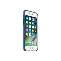 Cover IPHONE 7 LEATHER CASE Blu Zaffiro...