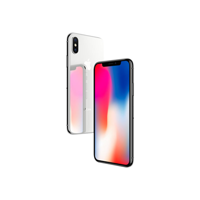 Apple - APPLE IPHONE X 64GB SILVER