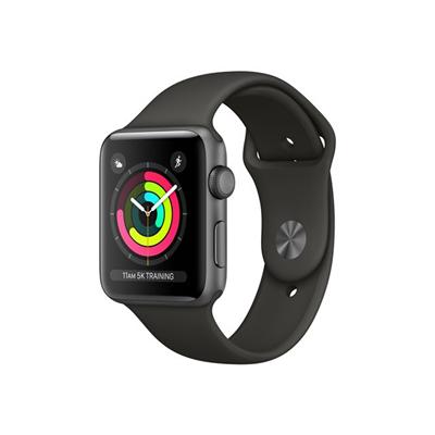 Apple - £S3 GPS  42 SG ALUM GREYSPORT