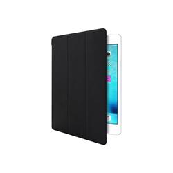 Coque Muvit Smart Stand - Protection à rabat pour tablette - noir - pour Apple iPad mini 4