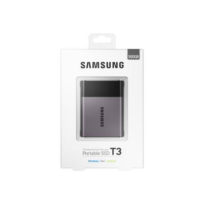 Samsung - SSD PORTATILE T3 DA 500GB USB3
