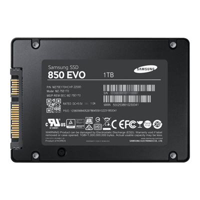 Samsung - SSD 1TB 850 EVO BASIC 2.5P