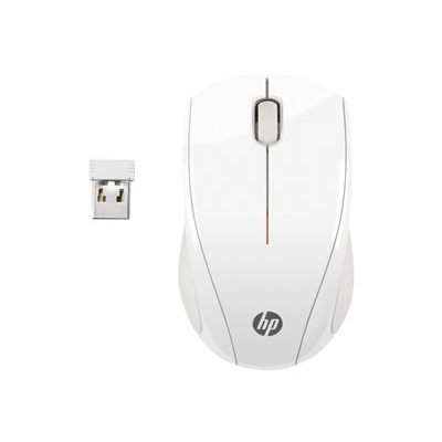 Mouse HP - HP WIRELESS MOUSE X3000 WHITE