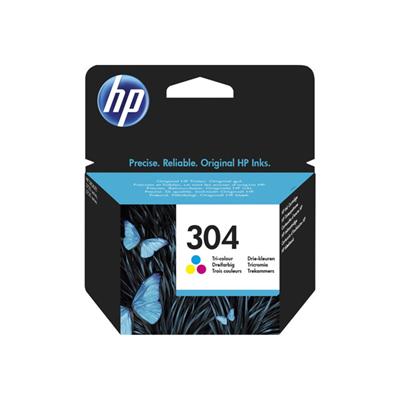HP - HP 304 TRI-COLOR INK CARTRIDGE