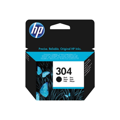 HP - HP 304 BLACK INK CARTRIDGE