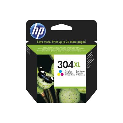 HP - INK CARTRIDGE NO 304XL TRI-COLO