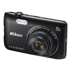 Fotocamera Coolpix a300 Nero- nikon - monclick.it