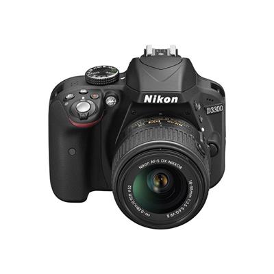 Nikon - $NI D3300 KIT 18-55 VR II SD 8GB