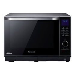Micro ondes Panasonic NN-DS596MEPG - Four micro-ondes grill - pose libre - 27 litres - 1000 Watt - argent/noir